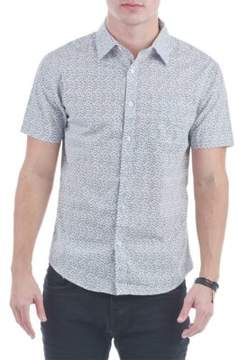 Sovereign Code Printed Short Sleeve Button-Down Shirt