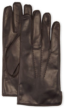Portolano Deerskin Leather Classic Gloves with Side Slit