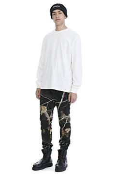 Alexander Wang HIGH TWIST JERSEY LONG SLEEVE TEE