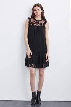 Velvet by Graham & Spencer MARSHA MIXED LACE DRESS