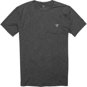 VISSLA All Time Short-Sleeve Rashguard - Men's