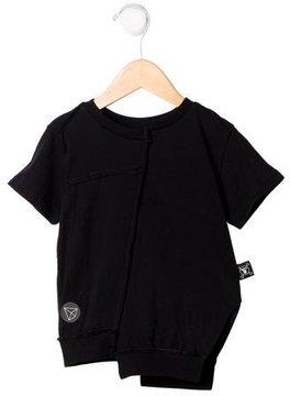Nununu Boys' Asymmetrical Short Sleeve Shirt w/ Tags