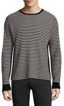 Ovadia & Sons Striped Wool Sweatshirt