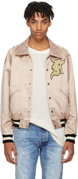 Fear Of God Pink Satin Coaches Jacket