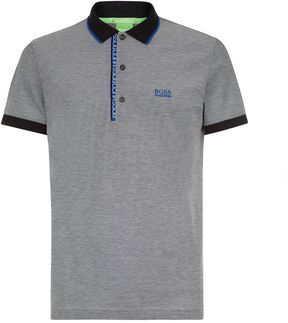 BOSS GREEN Oxford Piqué Polo Shirt