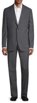 Jack Victor Patterned Wool Suit