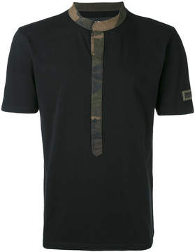 Hydrogen contrast trim T-shirt