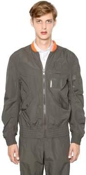Kolor Light Techno Cotton Bomber Jacket