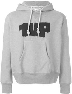 Junya Watanabe print hoodie sweatshirt