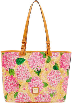 Dooney & Bourke Hydrangea Basketweave Leisure Shopper - PINK - STYLE