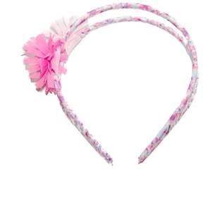 Osh Kosh Toddler Girl Double-Band Floral Headband