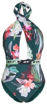 LaBlanca Women's La Blanca Jungle Wrap Front One-Piece Swimsuit