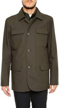 Z Zegna Jacket With Padding