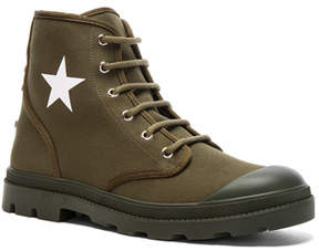 Givenchy Canvas Star Sneaker Boots