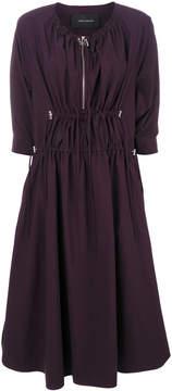 Cédric Charlier zipped neck dress