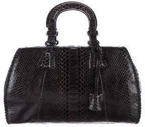 Giorgio Armani Python Handle Bag