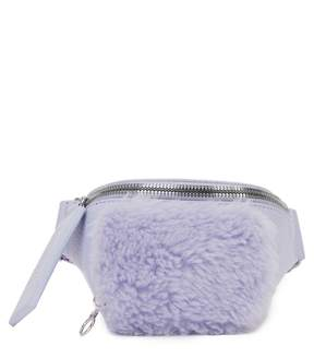 Kara Leather & Wool Bum Bag
