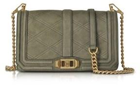 Rebecca Minkoff Women's Green Leather Shoulder Bag. - GREEN - STYLE