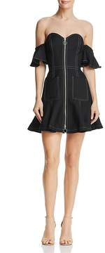 C/Meo Collective Get Right Off-the-Shoulder Mini Dress