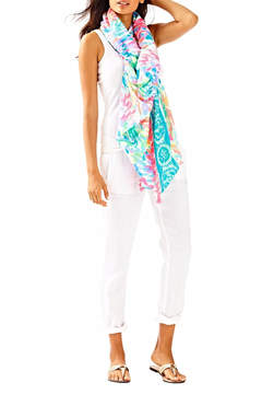 Lilly Pulitzer Waterside Wrap Scarf