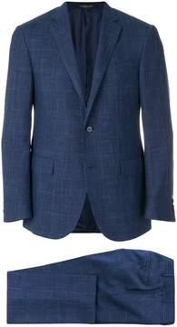 Corneliani checked two piece suit