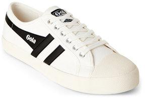 Gola Off-White & Black Coaster Sneakers