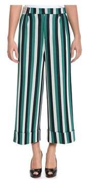 Berwich Women's Green Cotton Pants.