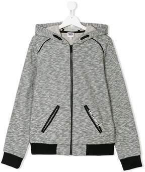 Karl Lagerfeld TEEN zip up hoodie