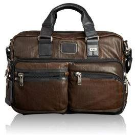 Tumi Andersen Slim Leather Briefcase