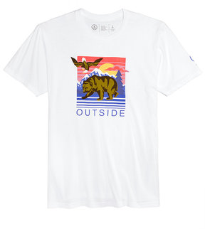 Neff Men's Graphic-Print Outsider T-Shirt