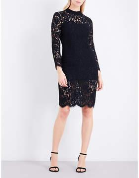 Claudie Pierlot Raspberry lace dress