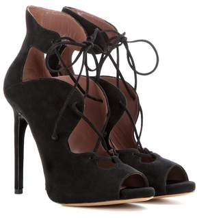 Tabitha Simmons Reed suede lace-up ankle boots