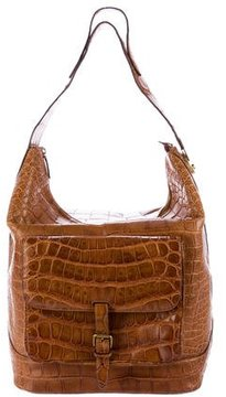 Ralph Lauren Crocodile Ricky Hobo