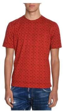 H953 Men's Red Cotton T-shirt.