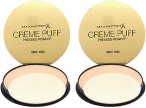Max Factor Truly Fair Creme Puff Foundation - Set of Two