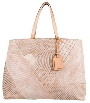 Reed Krakoff Pleated Leather Tote