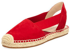 Botkier Henry Cutout Suede Slingback Espadrille