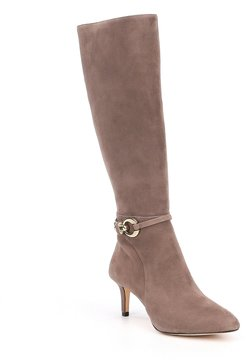 Antonio Melani Fernass Suede Narrow Calf Dress Boots