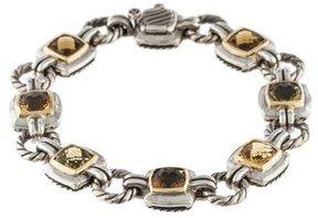 David Yurman Chiclet Single-Row Bracelet