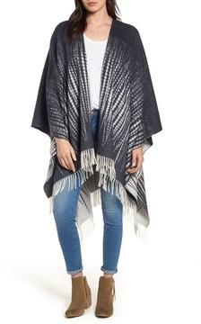 Frye Women's Feather Print Wool Wrap