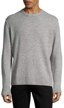 Black & Brown Black Brown Quarry Wool Crewneck Sweater