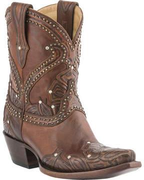 Lucchese Bootmaker M4811.S54 Spring Snip Toe Cowboy Heel Bootie (Women's)