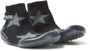 Nununu Black Star Slippers