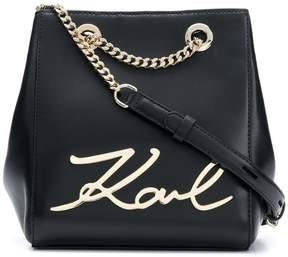 Karl Lagerfeld K/Signature bucket bag