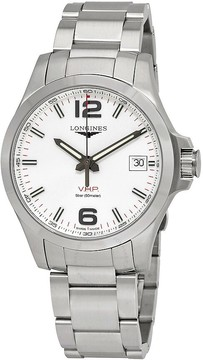 Longines Conquest V.H.P. Silver Dial Men's Watch