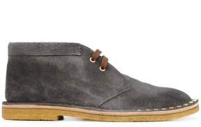 Prada studded desert boots