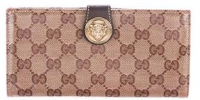 Gucci GG Crystal Hysteria Wallet - BROWN - STYLE