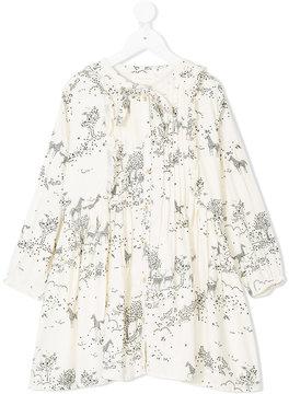 Simple meadow print dress