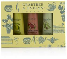 Crabtree & Evelyn Botanicals Hand Therapy Set (1x Citron, Honey & Coriander, 1x Pomegranate, Argan & Grapeseed, 1x Avocado, Olive & Basil)