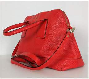 Kate Spade Red Orange Southport Avenue Jenny Satchel